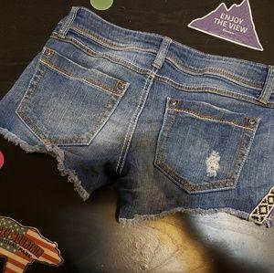 Mudd Shorts - Mudd size 3 designed shorts